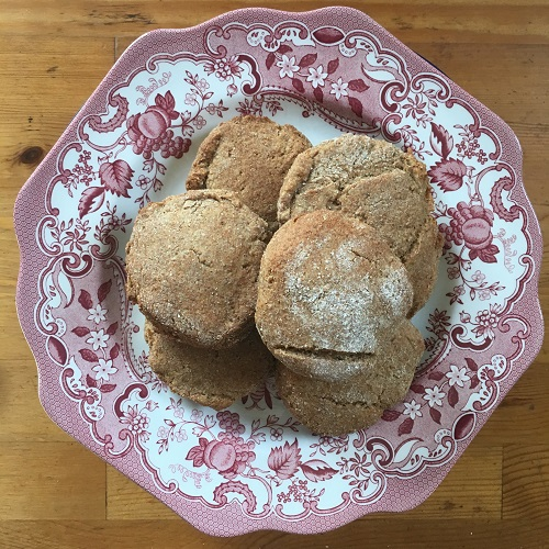 Rye Buttermilk Biscuits (wheat-free)