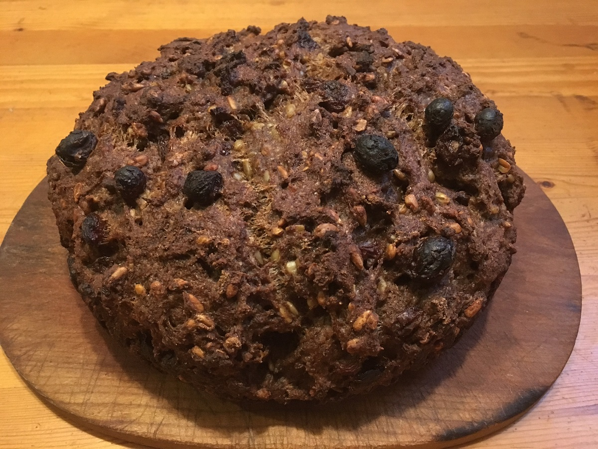 Raisin-Nut Bread (gluten- and rice-free)